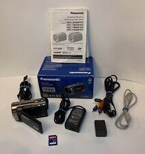 PANASONIC HDC-SD60 Camcorder Full HD Black 25x Zoom 1920x1080p in Box Tested!