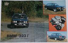 Test Drive Prova 1978 BMW 323i SERIE 3 E21