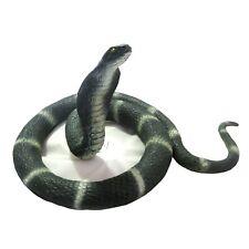Cobra Serpiente Utilería Realista Miedo Broma Chiste Proteger Jardín Halloween