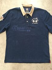 Polo La martina guards polo club col. azul marino en talla XL