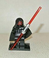 sw003 LEGO-STAR WARS minifig-DARTH MAUL-buone condizioni