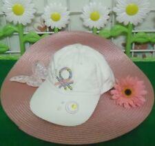 casquette de soleil fille BENETTON taille S ,réglable