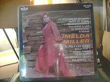 SEALED STEREO MEX LATIN LP~IMELDA MILLER~AMOR DE POBRE/SIN CONDICIONES &~HEAR !