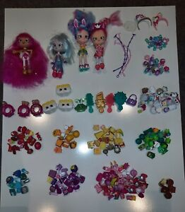 Shopkins toys, dolls, sets and assorted items