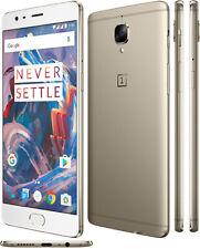 "Orignal OnePlus 3 Dual SIM 4G LTE Quad Core 6GB RAM 64GB Cell Phone Android 5.5"""