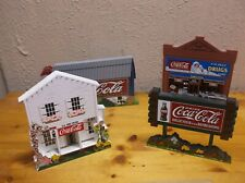 Coca-Cola Shelf Sitters by Sheila's Collectibles: X4