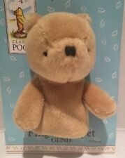 "Winnie The Pooh Finger Puppet 3.5"" Vintage Gund Classic New"