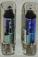 2 Fantasía Fabricantes Wet N Wild Lápiz de Labios Color Negro #11065 Precintado