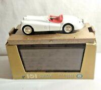 BRUMM 1:43 SCALE 1948 JAGUAR XK120 3.5 LITRE HP160 - WHITE - R101 - BOXED