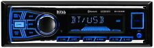 BOSS Audio 611UAB Multimedia Car Stereo - Single Din, Bluetooth Audio and Hands-