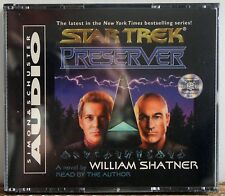 Star Trek: Preserver  William Shatner Simon & Schuster Audio 2000 Audio book CD
