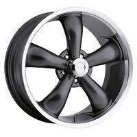 "18"" Vision 142 Legend 5 Gunmetal Wheel 18x8.5 5x4.5 20mm Ford Ranger Jeep 5 Lug"