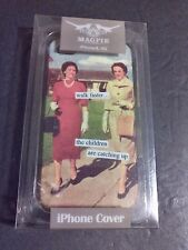 MAGPIE iphone 4/4S Cell Phone Case - Anne Taintor/Retro Design -NIB