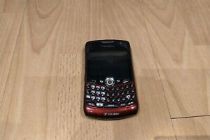 Rare Blackberry 8330 Red CDMA (U.S. Cellular) QWERTY  Mobile phone smartphone