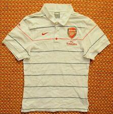 Arsenal, Fly emirates, Striped Polo Shirt by Nike, Medium, 178