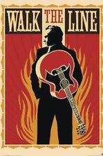 WALK THE LINE Movie Poster ~ Johnny Cash Movie Full Size 24x36 - Joaquin Phoenix