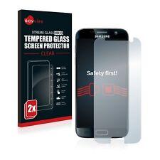 2x Samsung Galaxy S7 Exynos Panzerglas Schutzglas Panzerfolie Echt Glas Folie 9H