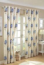 Rideaux et cantonnières à motif Floral anneau supérieur pour la chambre