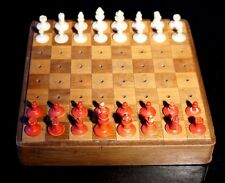 An Early travel Chess And Nine Mens Morris Sets