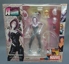 FIGURA SPIDERMAN GWEN STACY n ° 004   YAMAGUCHI Marvel Serie REVOLTECH