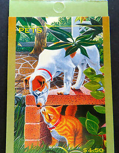 Australian Stamps: 1996 - Pets - Dogs & Cats Booklet - Original MNH