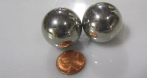 """440C Stainless Steel Ball 1 1/16"""" (+/-0.0005"""") Dia,  2 Units"""