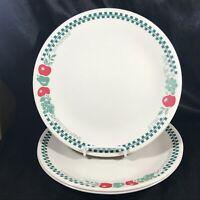 """Set of 3 Corelle FARM FRESH Jam Jelly 10-1/4"""" Dinner Plates"""