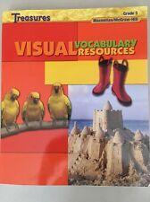 GRADE 3 MacMillan/MCGraw Hill Treasures Language Arts Visual Vocabulary