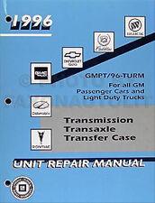 1996 Chevy Transmission Overhaul Manual Pickup Tahoe Suburban Blazer S10 Van