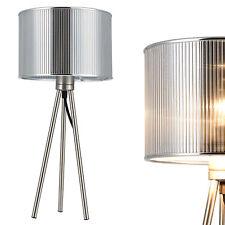[lux.pro]® Luce da tavolo [H:50cm Ø23cm] Lampada da scrivania Lampada E14
