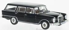 Whitebox WB207 Mercedes 230S Estate 1967 Black 1/43rd Scale Model In Case T48Pos