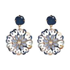 CG2410...PRETTY EARRINGS WITH RHINESTONES - FREE UK P&P
