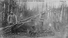 Grave of a German soldier in the Argonne Forest - 8x10 World War I Photo WWI