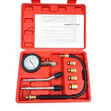 Cylinder Compression Tester Gas Petrol Engine Gauge Kit for Car Motorcycle NEW