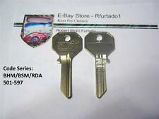 Key Blank for Vintage Rolls Royce / Bentley 1950 's to 1969 Master Key  (62HB)