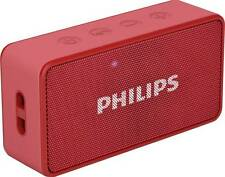 Philips BT64R/94 Portable Bluetooth Mobile/Tablet Speaker 9 Months Warranty-Bill