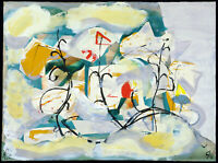 DDR-Kunst/Nachwendezeit. Mischtechnik Rainer ZILLE (1945-2005 D), handsigniert