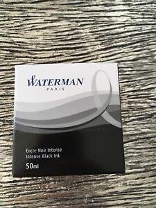 Black Waterman Pen Ink 50 Ml