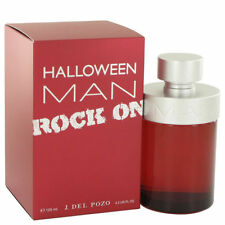 Halloween Men Rock On By J. Del Pozo 4.2 oz/ 125 ml Edt Spray For Men New In Box