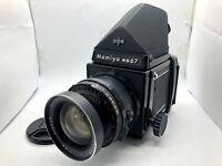 【N MINT】Mamiya RB67 Pro + Prism Finder + Sekor 65mm f4.5 + 120 Back From Japan