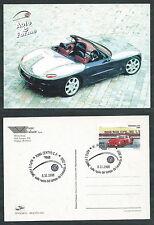 1998 ITALIA CARTOLINA ROMA AUTO E FORME FERRARI GTO - G