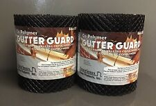 """Gutter Guard Shield 20' X 6"""" Roll Black Polymer Amerimax Home Products LOT OF 2"""