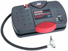 CRAFTSMAN 12 VOLT PORTABLE INFLATOR AIR COMPRESSOR - DIGITAL TIRE PRESSURE GAUGE