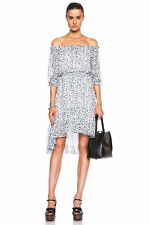 DIANE VON FURSTENBERG DVF Camila Silk Chiffon Animal Print Dress- NWT $468 SZ 10
