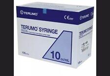 Terumo Sterile Syringes -10ml, Box Of 100 Luer Slip,  same day Despatch