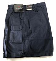 Woolrich Tactical Elite Mens 44 42 40 36 32 Ripstop Navy Cotton Cargo Shorts