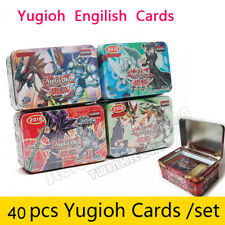 40pcs Set Yu-gi-oh Game Paper Cards Toys Collection Card Sealed Box TRADING CARD