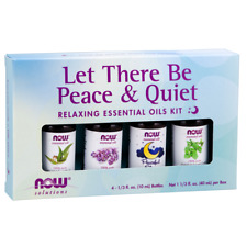 Now Foods Let There Be Peace & Quiet Essential Oil Kit