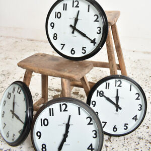 Industrial Vintage Antique Smiths Wall Clock
