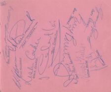 Other Autographs